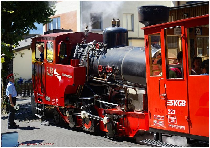 Lok der Schafbergbahn
