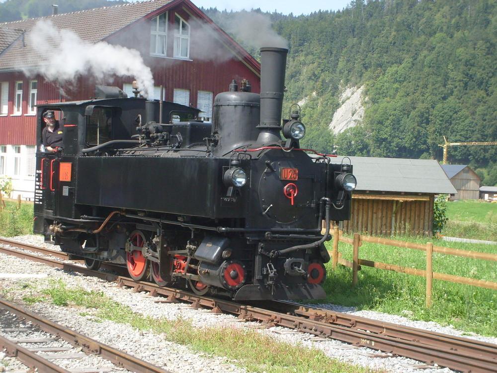 Lok U25 der Bregenzerwaldbahn
