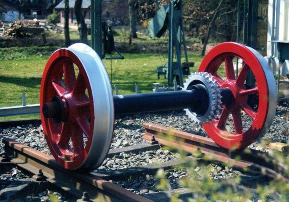 Lokomotivachse