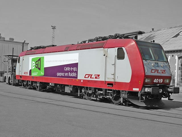 Lokomotive CFL 4000 Serie