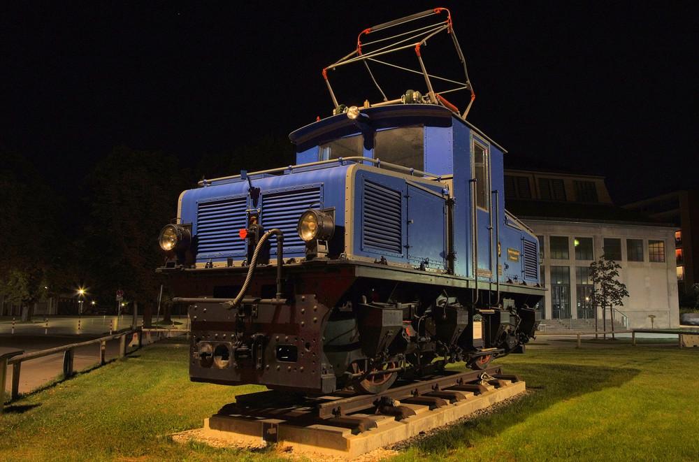 Lokomotive der Bayerischen Zugspitzbahn
