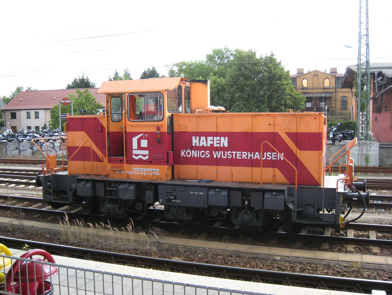 Lokomotive der Hafenbahn Königs Wusterhausen