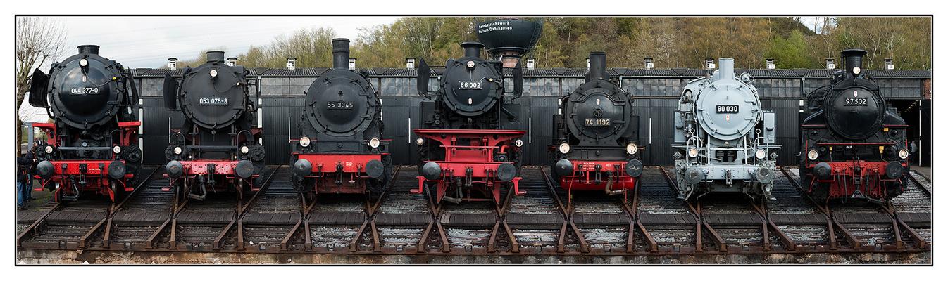 Lokomotivenpanorama