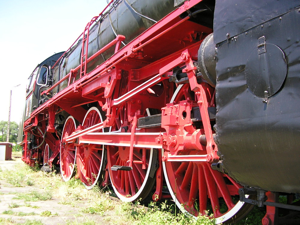 Lokomotivmuseum in Polen