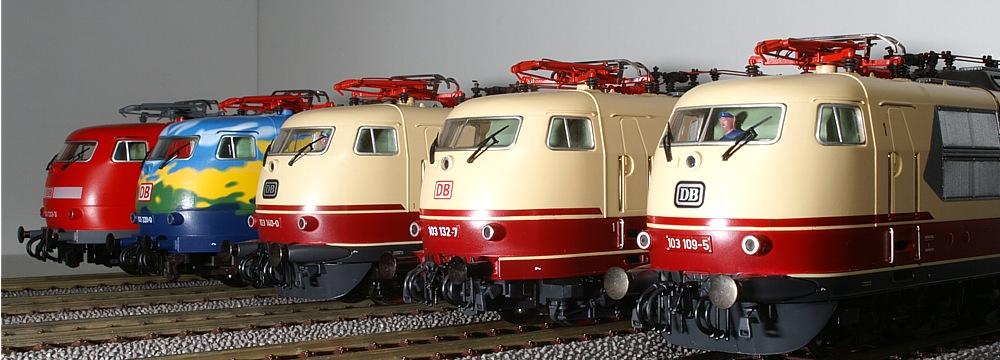 Lokparade Baureihe 103
