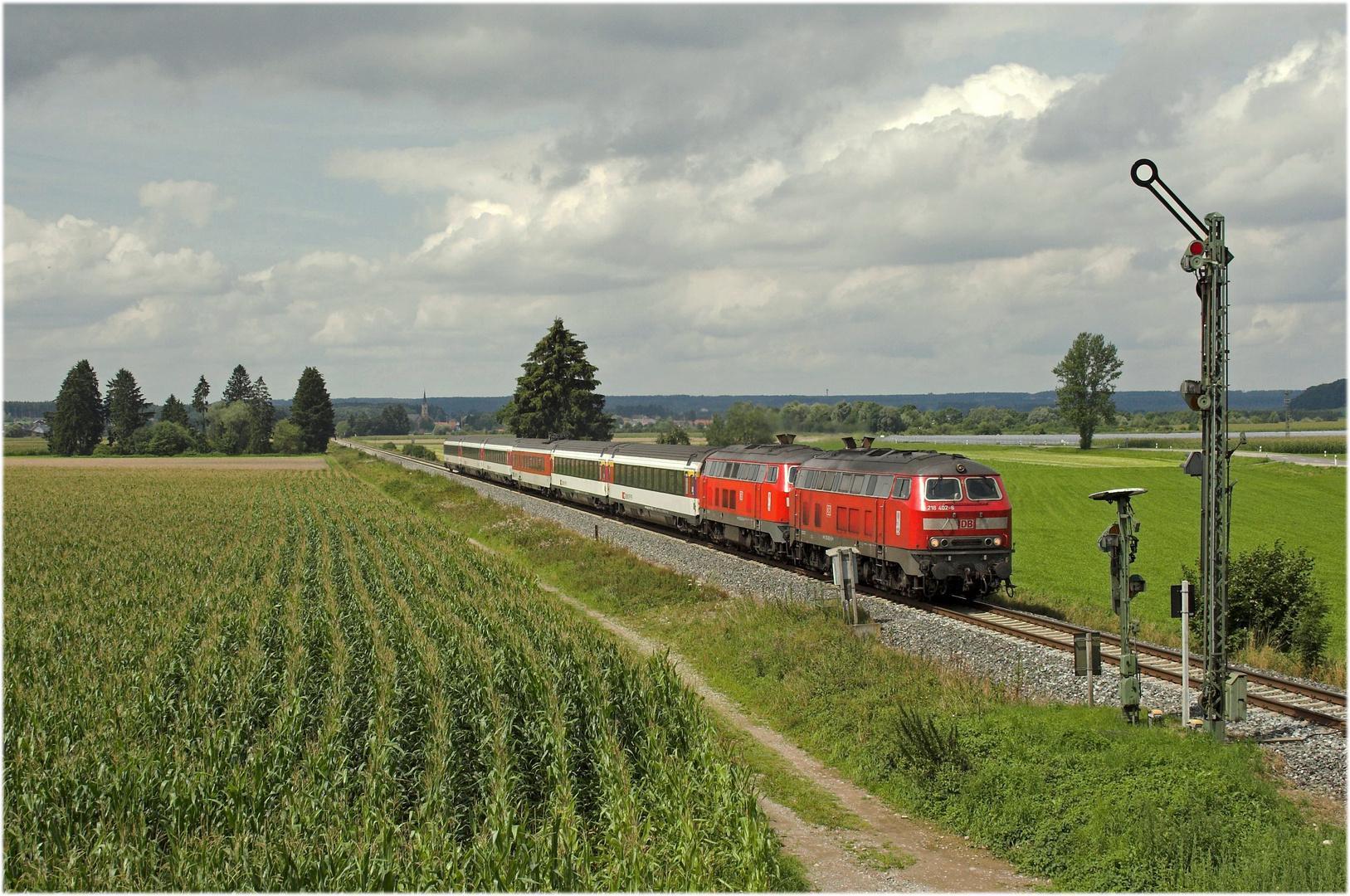 Loks DB - Wagen SBB...