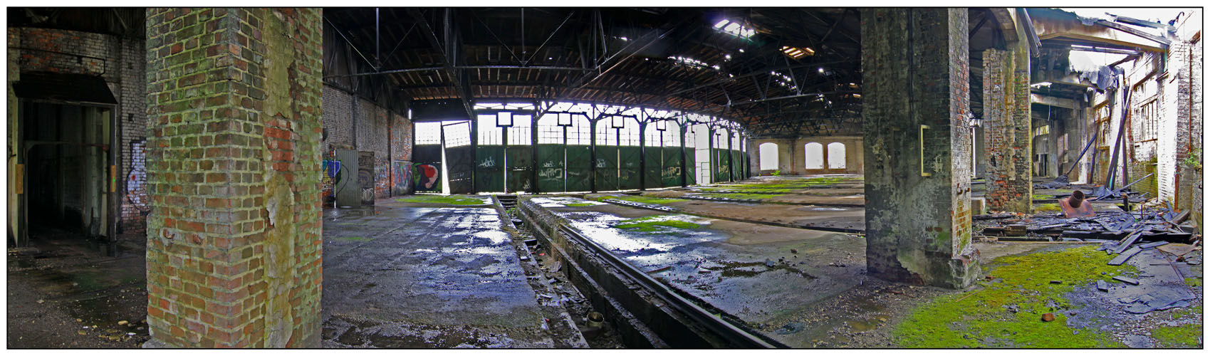 Lokschuppen Bahnbetriebswerk Dillenburg