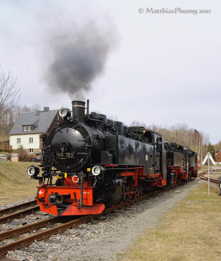 Lokverladung in Hammerunterwiesenthal