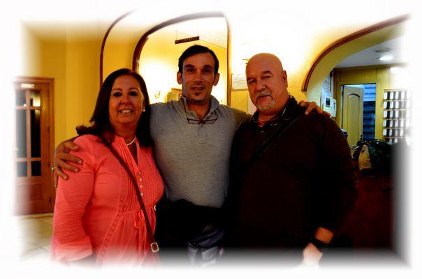 Lola, Mauro y Floren