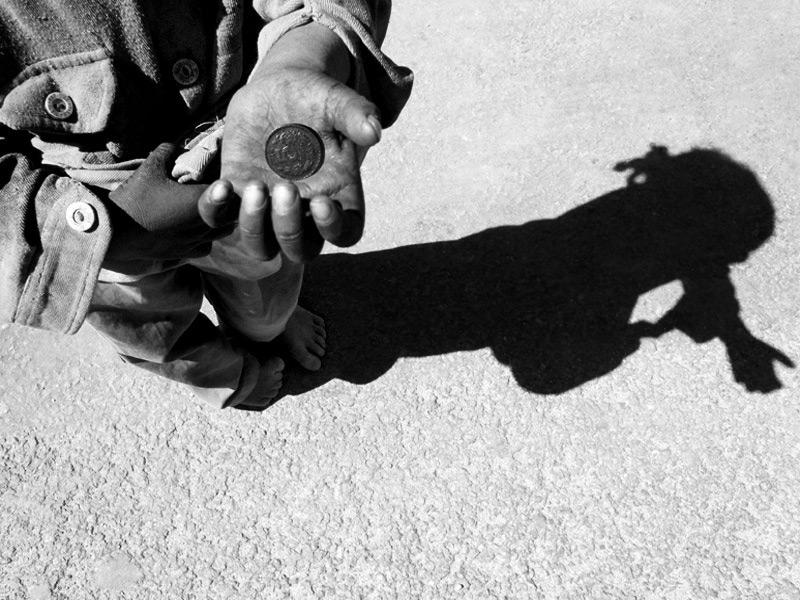 L'ombra del mendicante