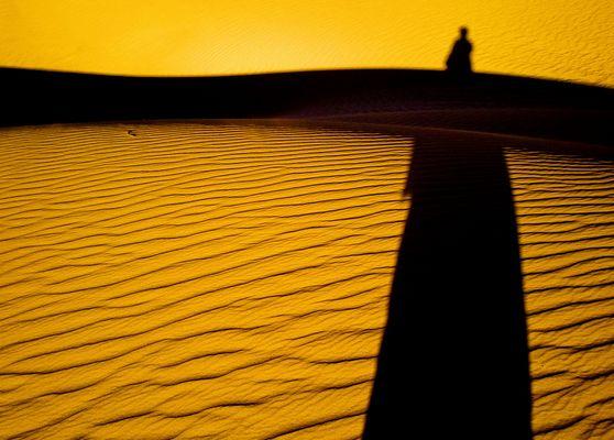 L'ombra nel deserto