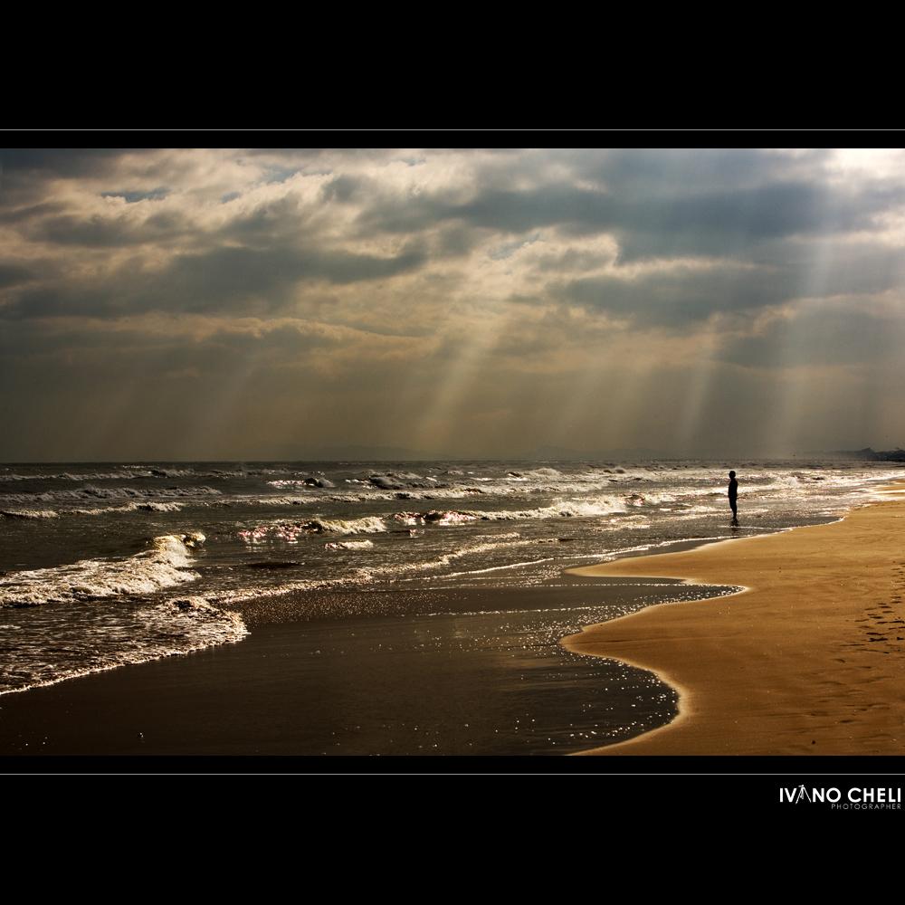 l'omino e il mare