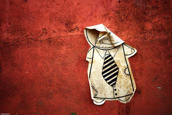 l'omino in cravatta
