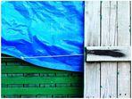 lona azul ---