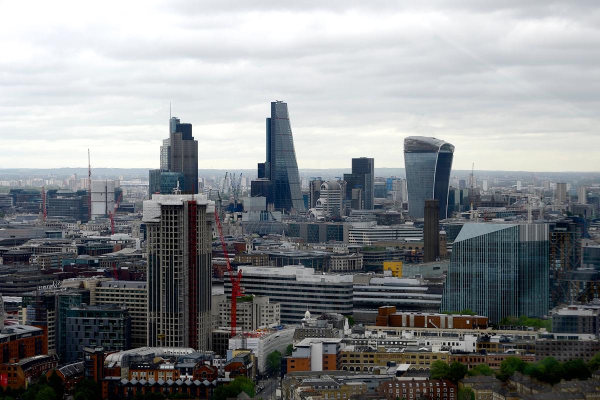 Londen die Metropole