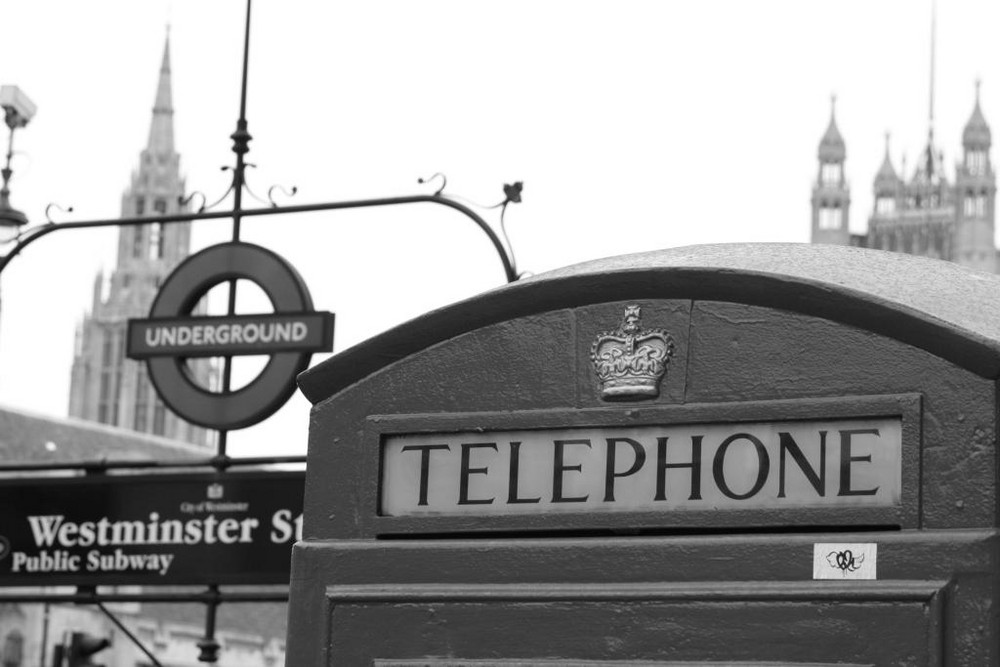London auf einem Bild