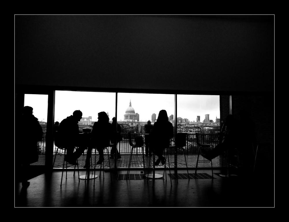 London: Blick aus der Tate Gallery of Modern Art