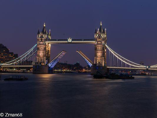 London Bridge Full open