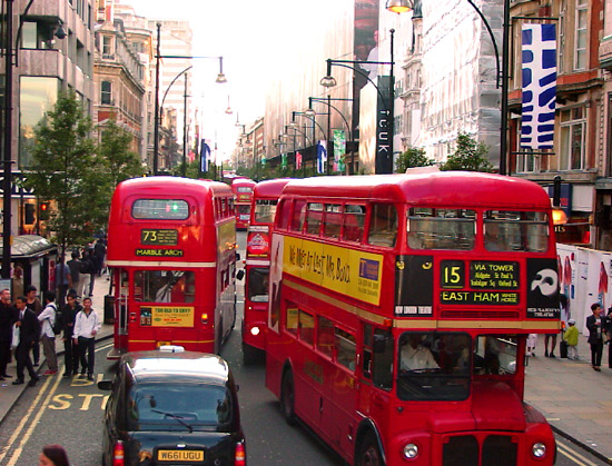 London by Bus
