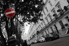 London Chelsea - beside road -