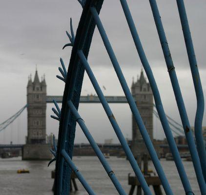 london, cold, rain..