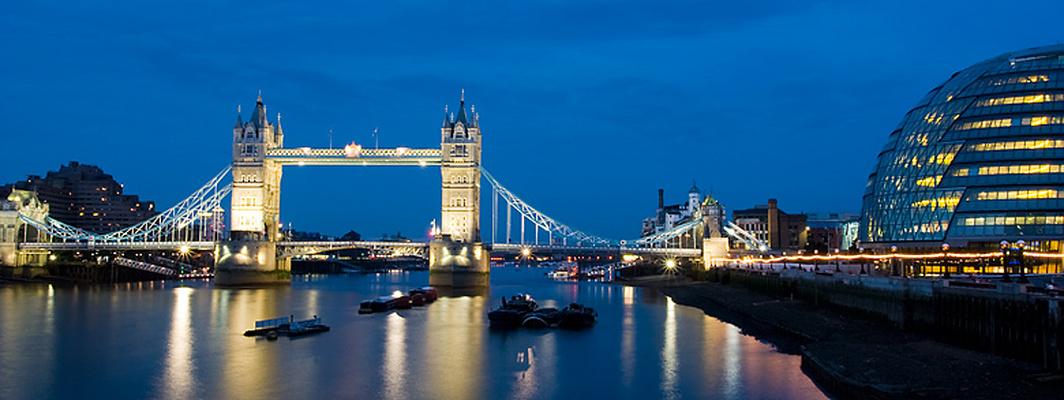London et le Tower Bridge...