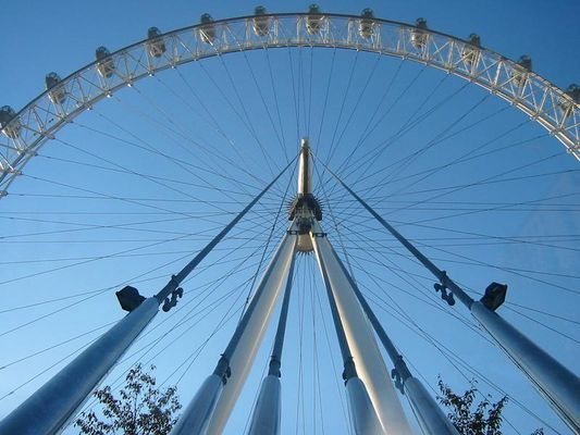 London Eye am Themse-Ufer