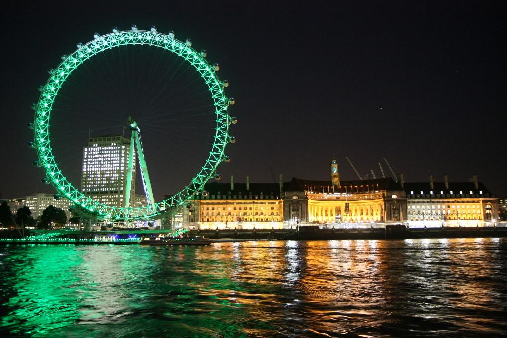 london eye bei nacht foto bild europe united kingdom ireland england bilder auf. Black Bedroom Furniture Sets. Home Design Ideas