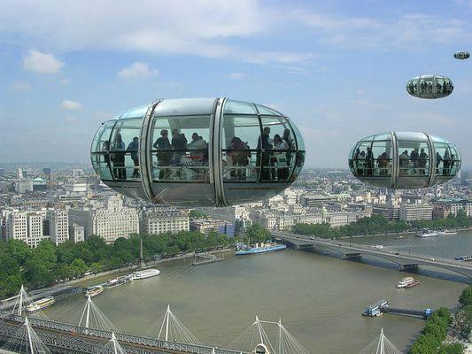 London eye flight