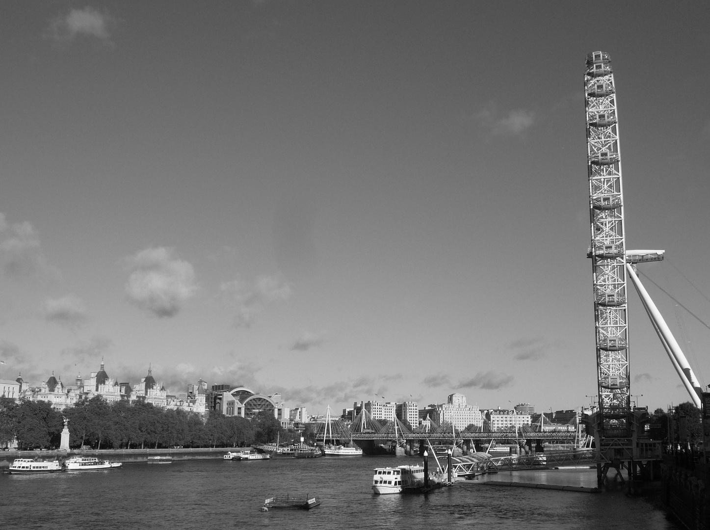 London eye...Blickfang