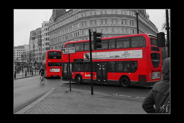 London in schwarz-weiss und rot (4)