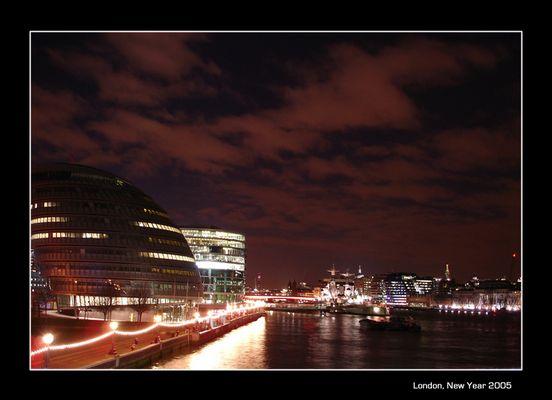London, New Year 2005