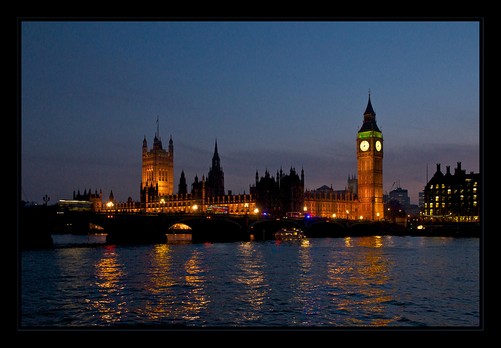 London @ night