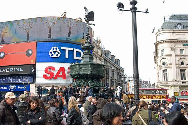 London Ostern 2009 [Bild 03] Trafalgar Square