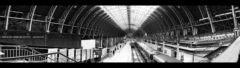 London - Paddington Station - Panorama