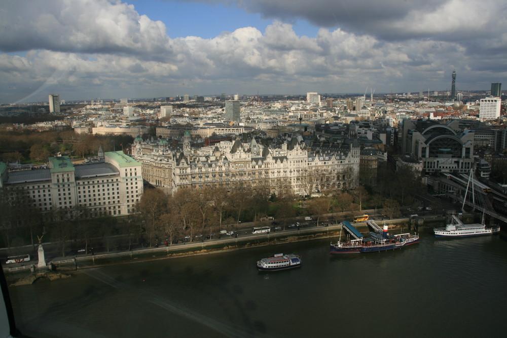 London - Sonnenfleck auf Londons City