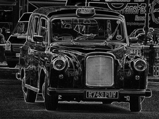 london taxi...