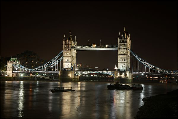 London - Tower Bridge @ Night