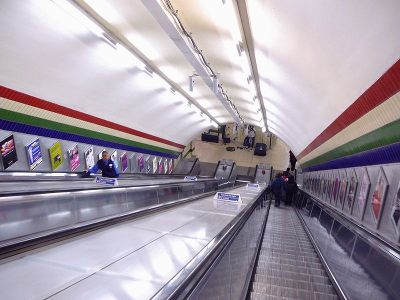 London tube, 2007
