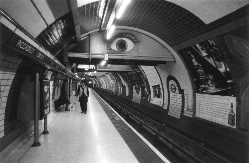 London underground eye