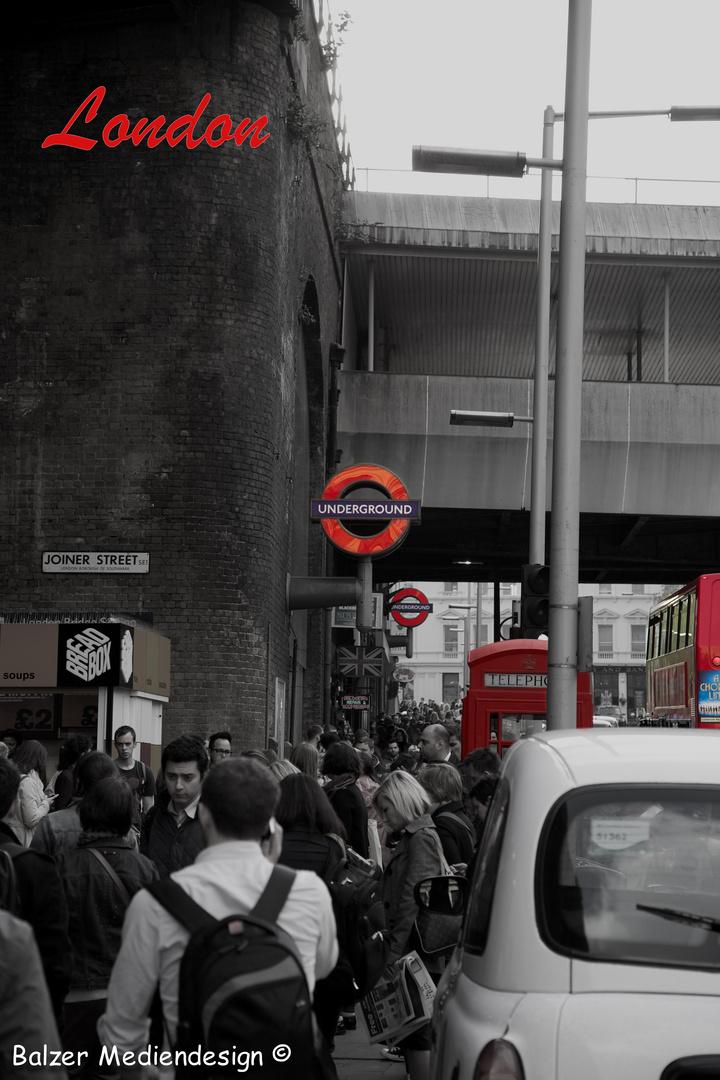 Londoner Fußgängerzone