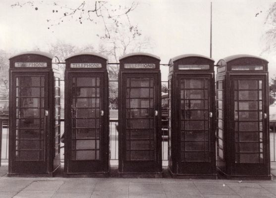 Londoner Telefonzellen....Was sonst? : )