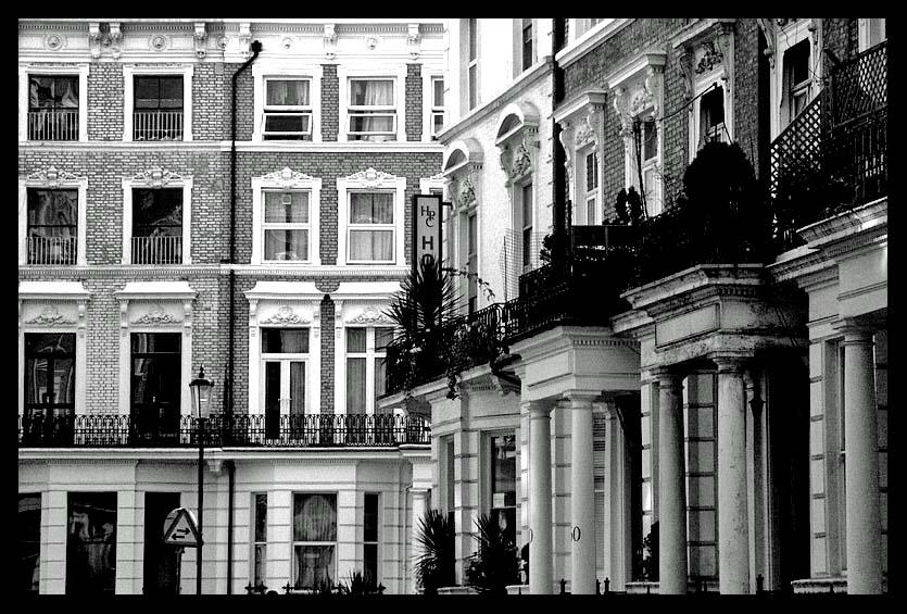 Londonerfassaden