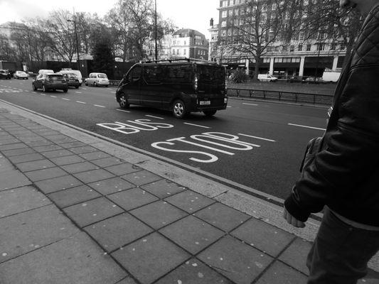 Londres en noir et blanc
