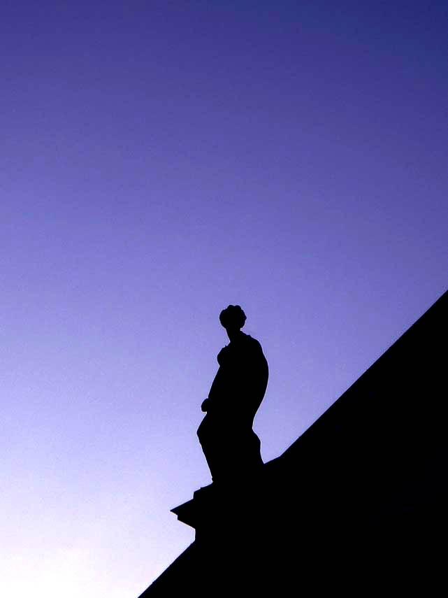Lonely Angel in Berlin