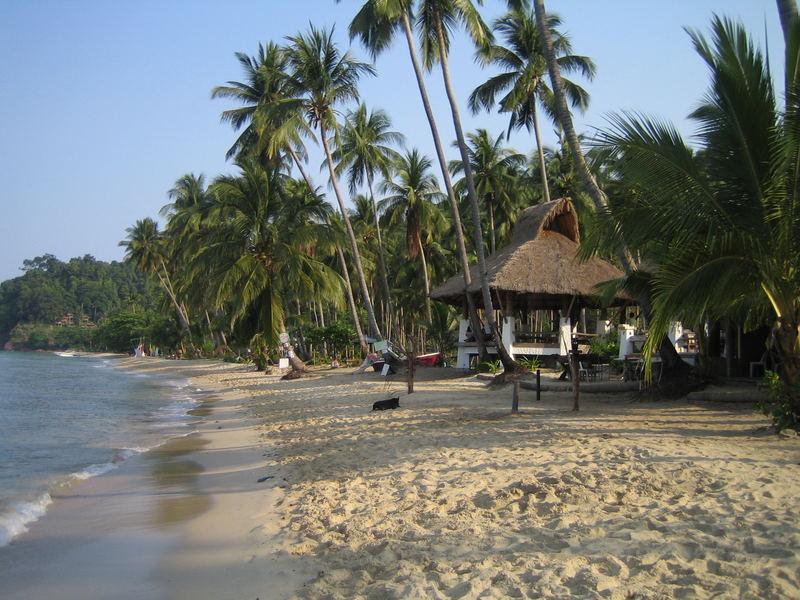 Lonely Beach - Nature Rocks - Thailand Ko Chang