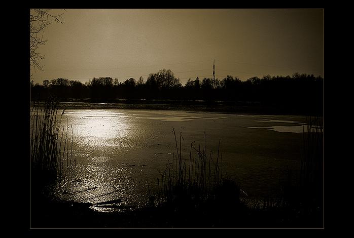 lonely ice world
