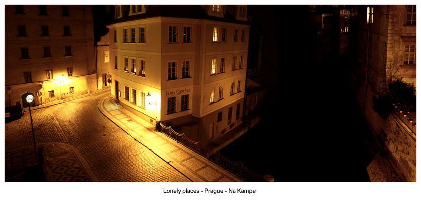 lonely places - prague
