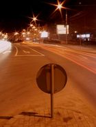 Lonely street-sign