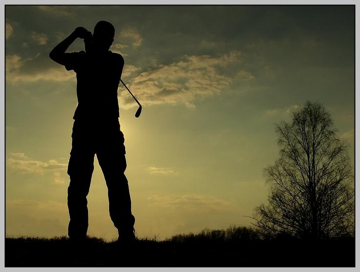 Lonesome Golfer